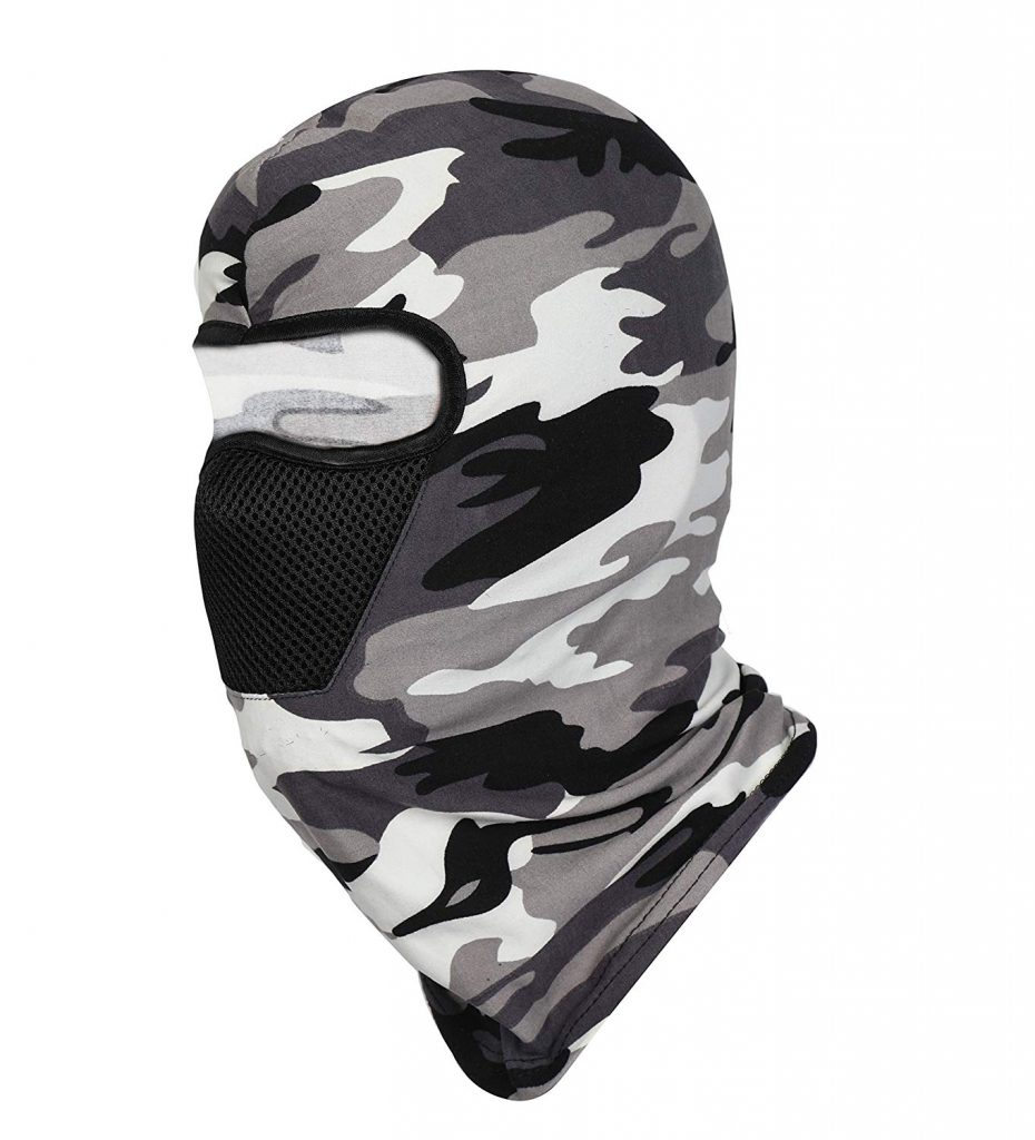 FabSeasons Camouflage Polyester Multi Functional Pollution & Face Mask