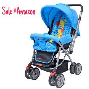 Little pumpkin Kinddle Kingdome stroller
