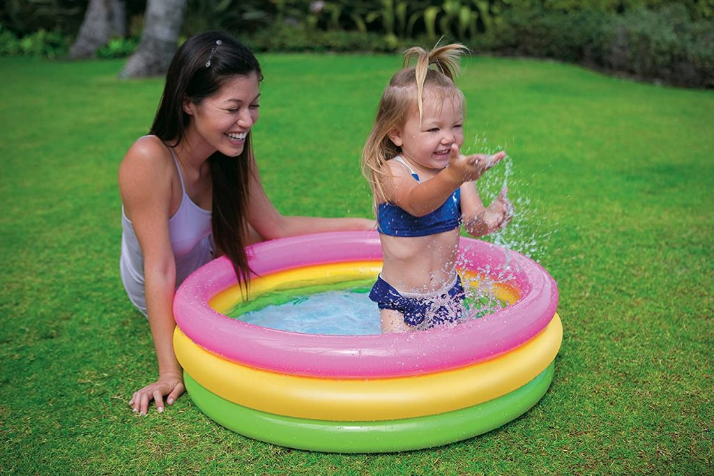 Intex 2 Feet Pool and 3 Feet Pool Combo