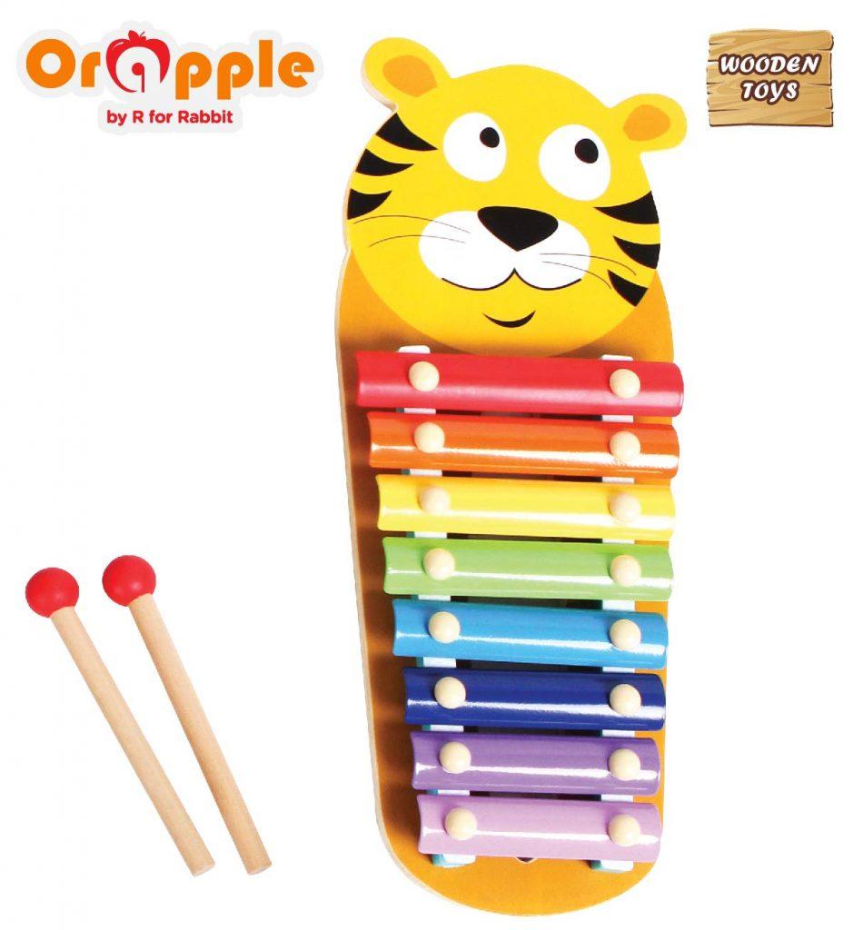 Orapple Tin Tin Xylophone Musical Toy