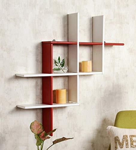 Floating wall mounted shelf