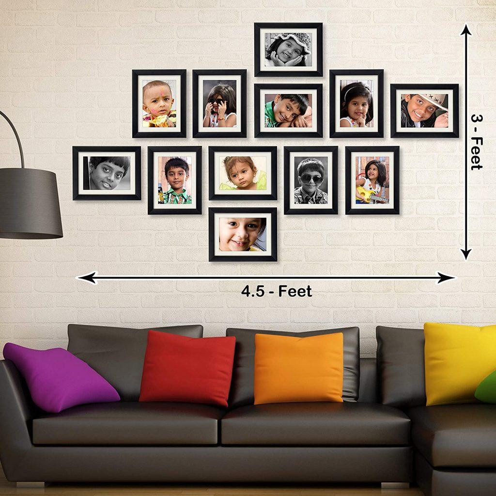 Set of 12 photo frames