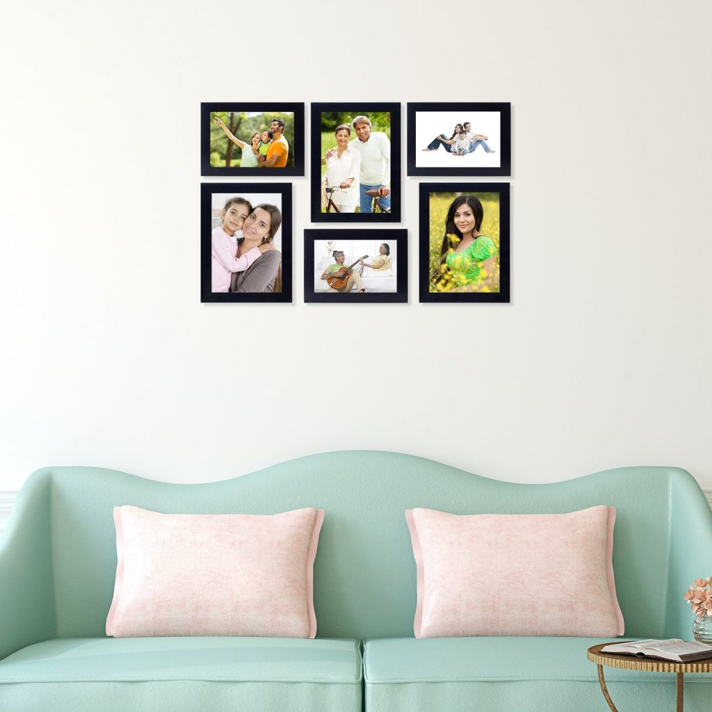 set of 6 photo frames